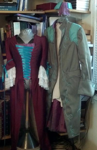 Replenished Repertoire costumes in progress, 2012
