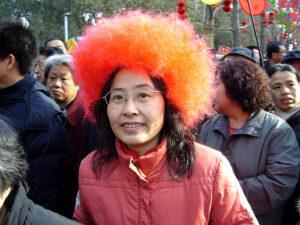 Temple fair hair