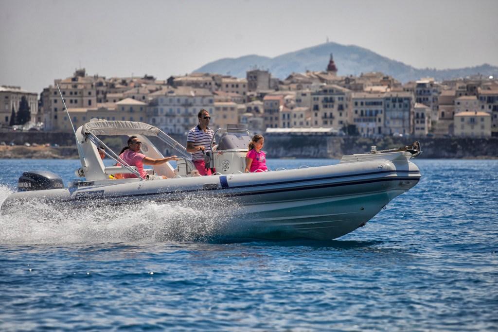 Skippered Boat Hire Corfu