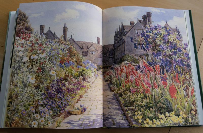 Gravetye Manor, Gemälde von Beatrice Parsons