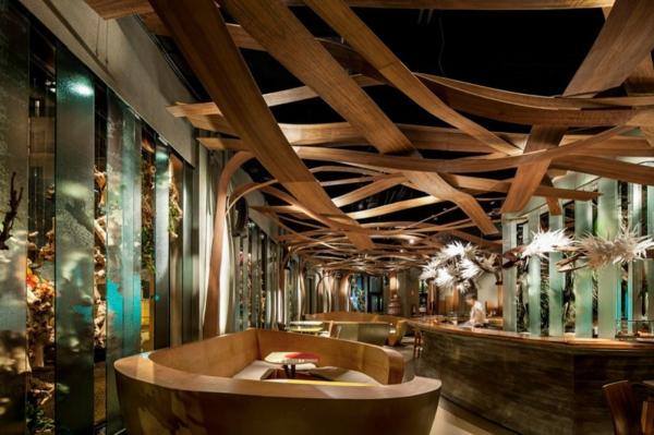 Ein Design Vom Restaurant Ikibana Paral Restaurant