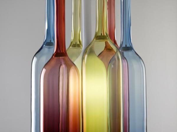 Lampen Und Leuchten Designer Lampen Aus Farbigem Glas