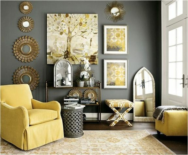 Yellow Color Schemes Living Room