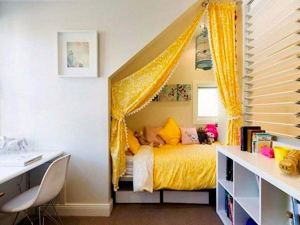 Kinderzimmer Dachschrge Einen Privatraum Erschaffen