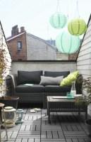 Ikea Gartenmöbel für eine kleine Terrassen Oase