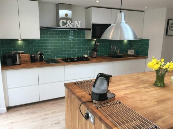 Kitchen Tiles Grey Kitchen