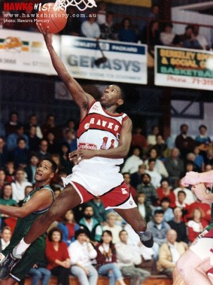 Overton dominated the NBL with the Hawks