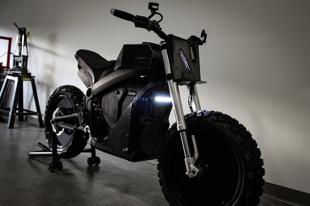 Droog E-Fighter  Electric Motorcycle