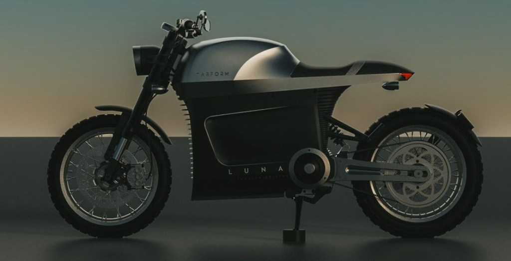 Tarform Luna electric motorcycle