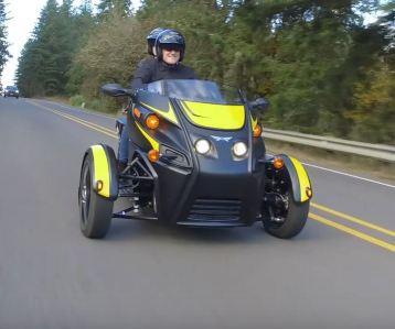 Arcimoto FUV roadster, Arcimoto, FUV, Roadster, FUV roadster,
