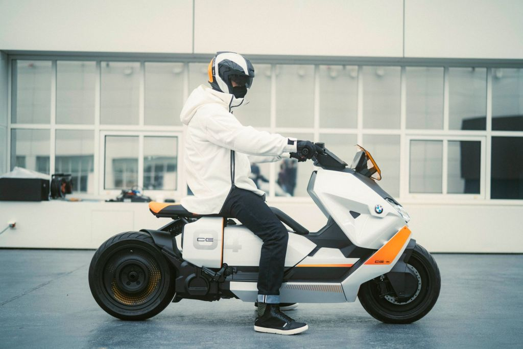 BMW Definition CE 04 Electric Concept Scooter.