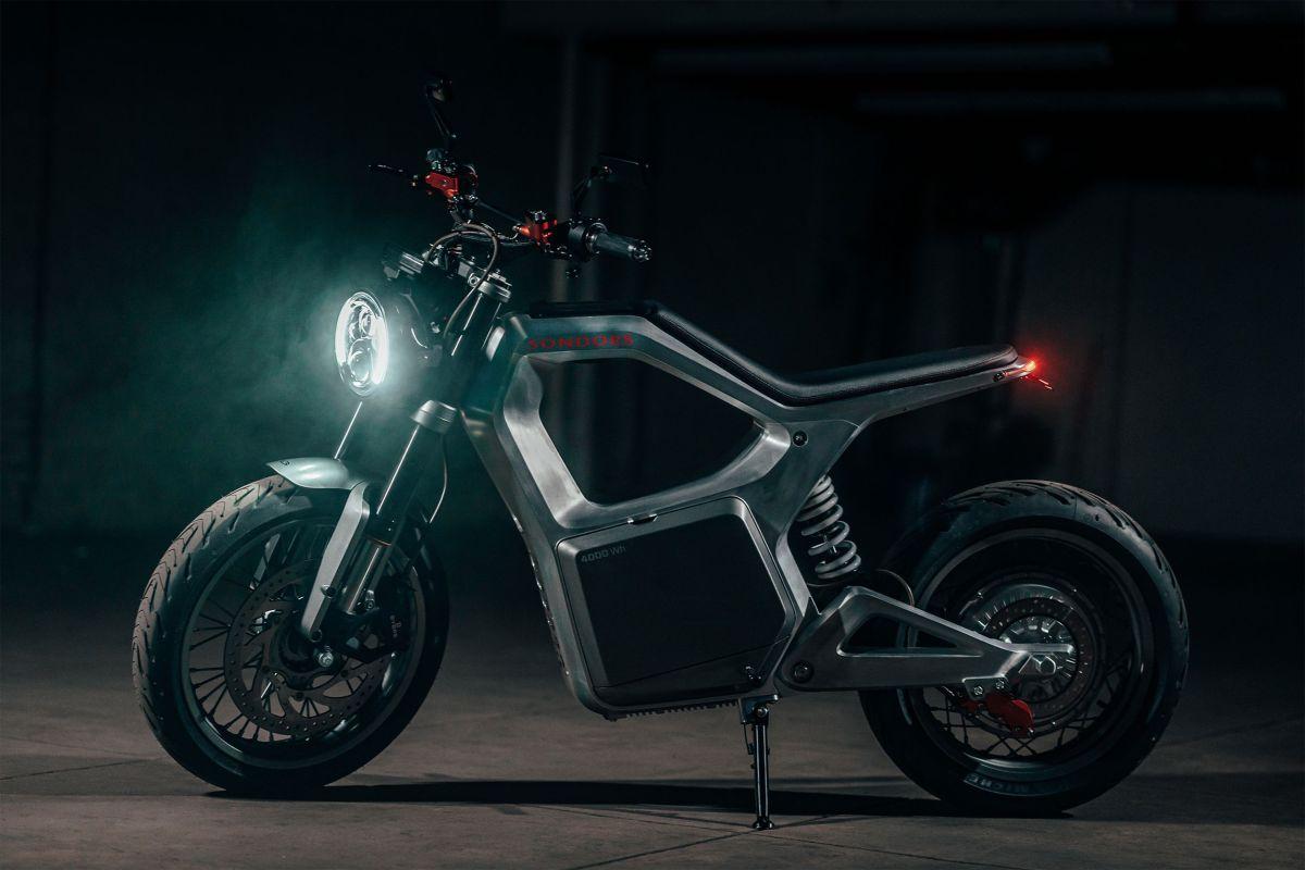Sondors Metacycle electric motorcycle