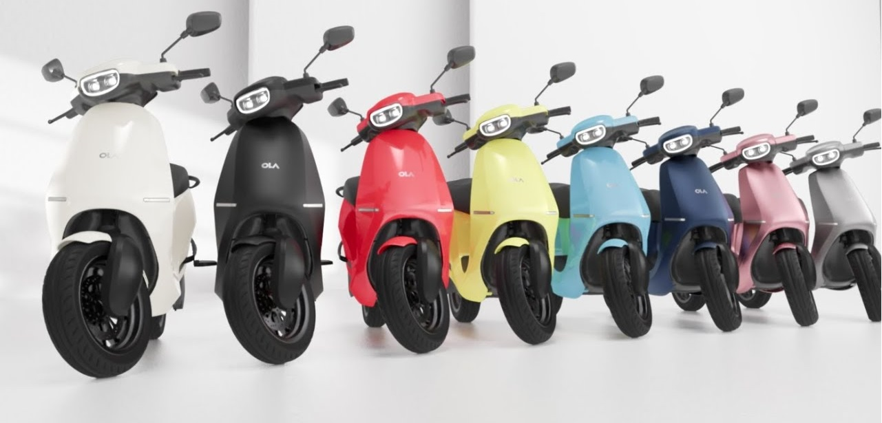 Ola Electric S-Series Offers 3 Variants, 10 Color Schemes and over 100K Pre-orders So Far.
