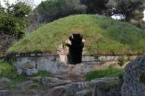 The Etruscan tombs date from the 9th century BC to the late Etruscan age of the 3rd century BC