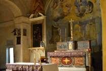 The sanctuary of the Church of the Madonna di Ceri