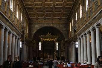 The interior of Saint Mary Major