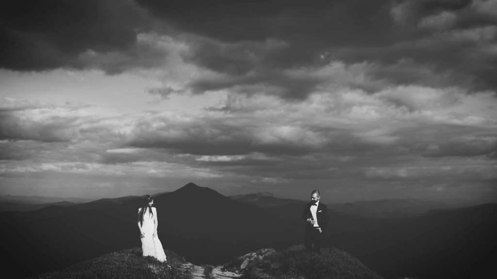 Plener ślubny w bieszczadach