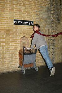 "Me at ""Platform 9 3/4"""