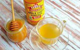 apple cider vinegar honey