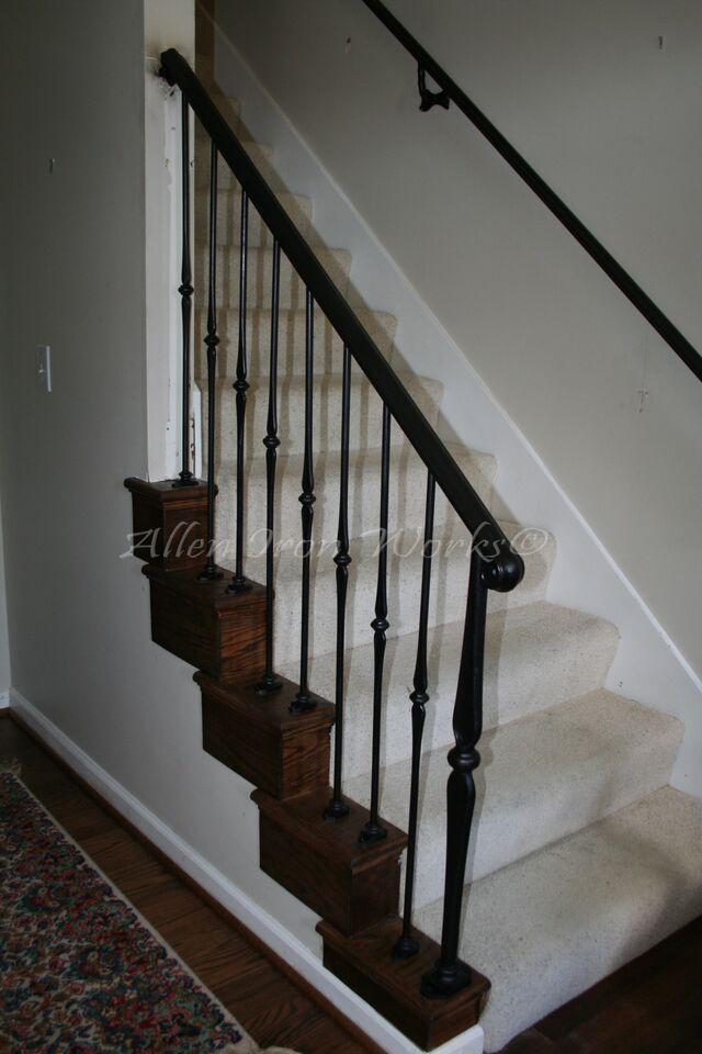 Interior Railings Birmingham Al Allen Iron Works