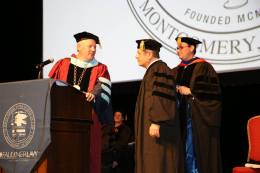 Hooding Judge Napolitano