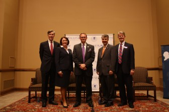 With Candidates at the Federalist Society's Alabama AG Candidate Forum