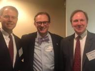 With Justice Brad Mendheim and Judge Bill Cole