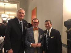 With Senator Luther Strange and Judge Bill Pryor