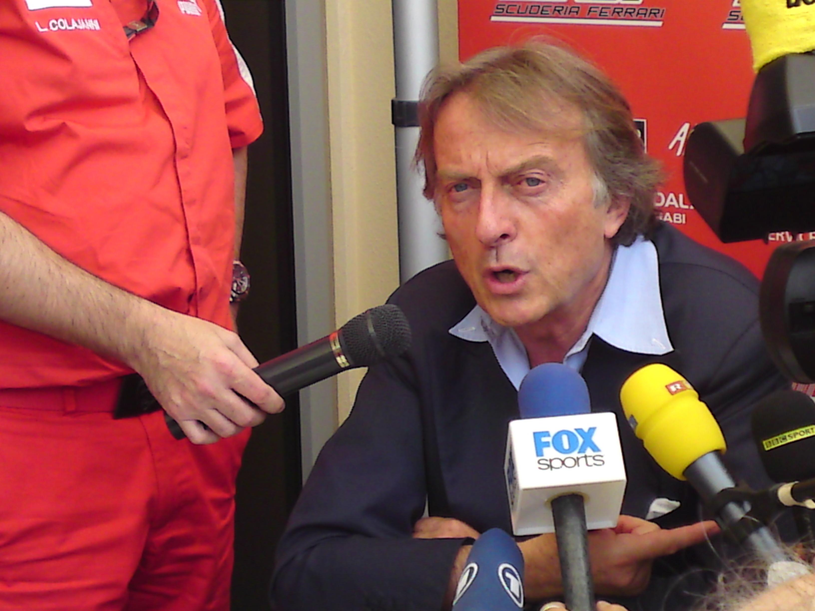 Montezemolo ; Legal challenge to cost cap?