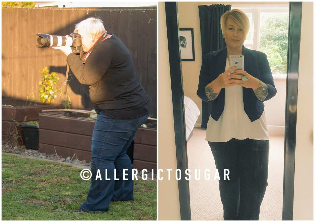 Allergic to Sugar - July to March progress