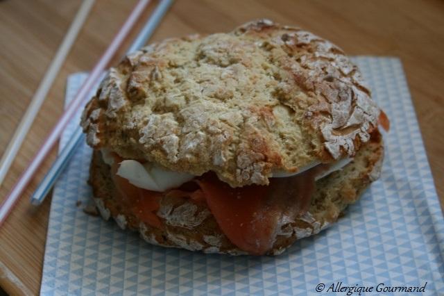 pains burger sans gluten