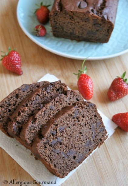 cake au chocolat sans gluten sans œufs