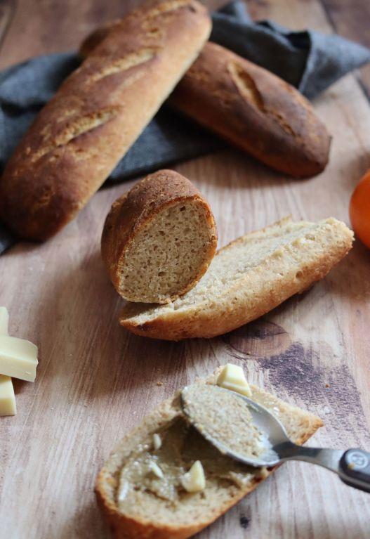 pain au llait végétal au levain sans gluten sans lait sans oeufs
