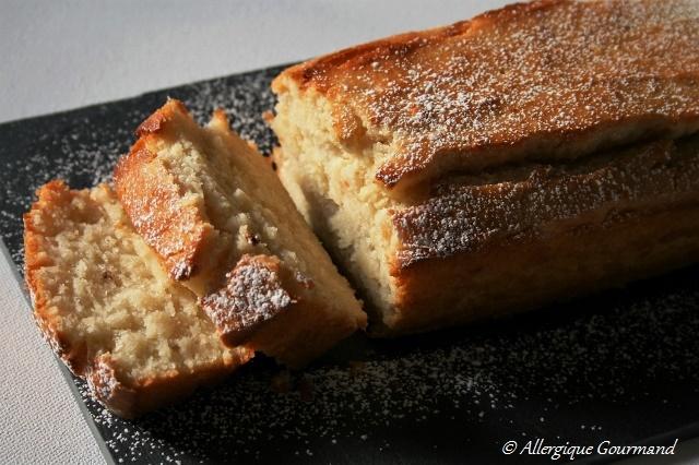 Gâteau ricotta huile d'olive sans gluten sans œufs