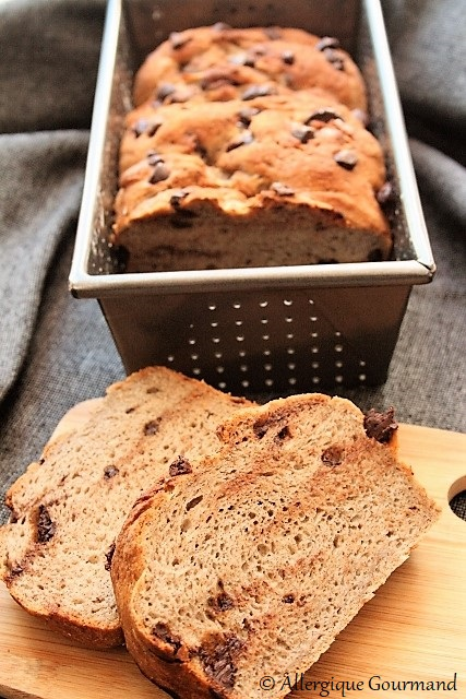 pain brioché sans gluten sans lait sans oeufs