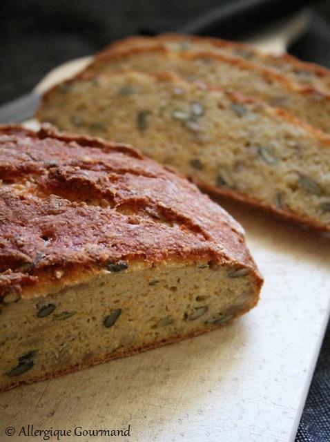 pain aux lentilles corail sans gluten