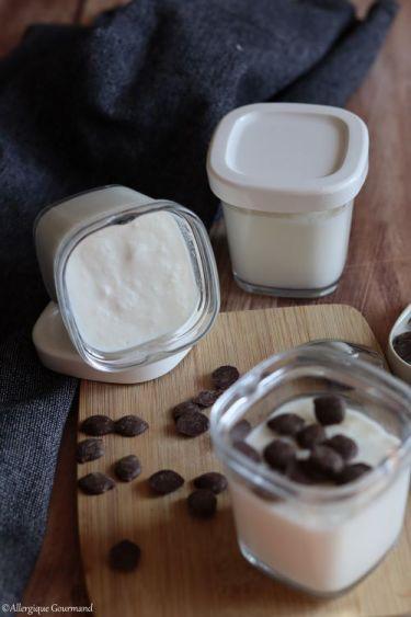 yaourt au lait végétal