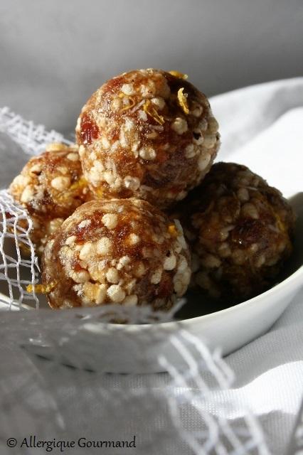 energy balls citron quinoa sans gluten sans lait sans oeufs