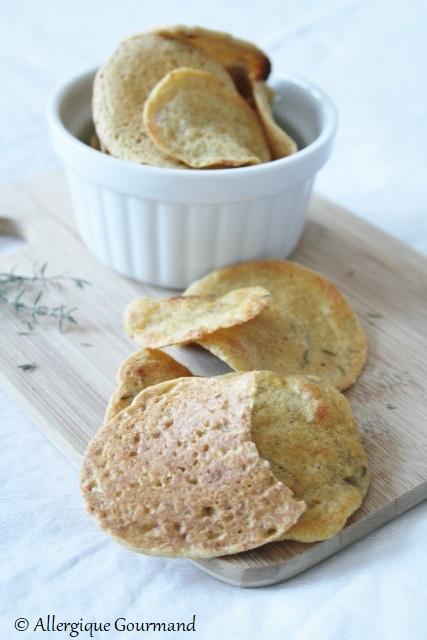 chips lentilles quinoa sans gluten sans lait sans oeufs