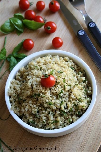 Taboulé à ma façon au quinoa