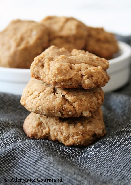 Biscuits aux flocons de sarrasin