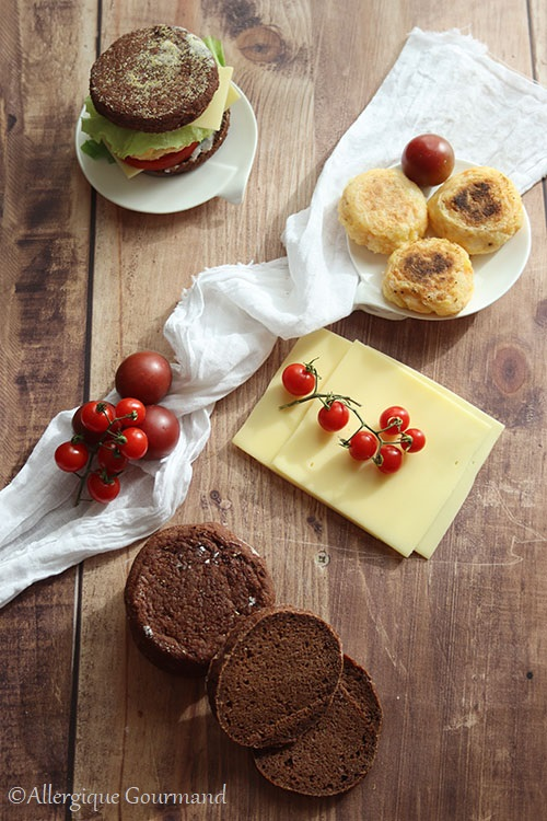 Muffins anglais au cacao