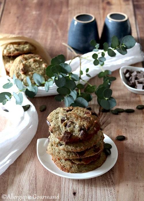 Cookies à la poudre de courge