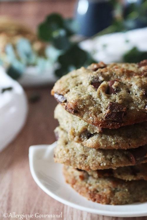 cookies à la poudre de courge sans gluten sans lait sans œufs
