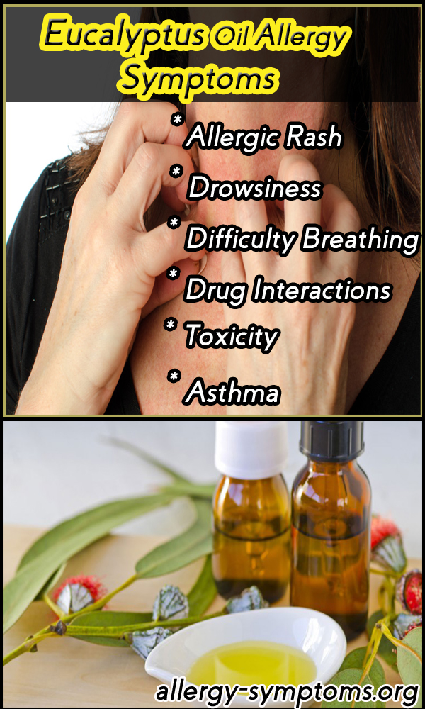 eucalyptus oil allergy symptoms