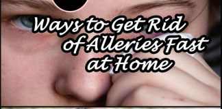 get rid of allergies