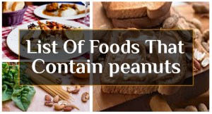 List of Foods that Contain Peanuts fb