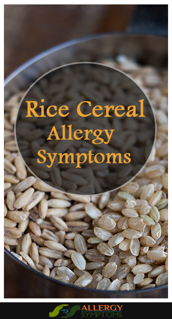 Rice Cereal Allergy Symptoms