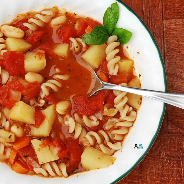 Gluten Free Vegan Minestrone (Top 8 Free, PLUS Slow Cooker Option)