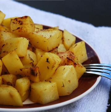 gluten free greek potatoes